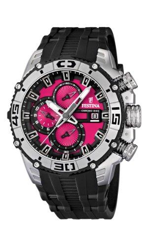 Festina Herren-Armbanduhr XL Chronograph Plastik 16600/8