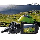 VIPECO Digital Video Camera Full HD 1080P 32GB 16x Zoom Camcorder DV Camera(Black)