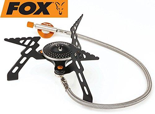 Fox Cookware Compact 3000 Stove - Gaskocher zum Kochen am Wasser, Kochplatte zum Karpfenangeln & Wallerangeln, Campingkocher 5