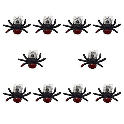 Kinder Lernspielzeug, ALIKEEY 10 Stücke Trick Spielzeug Simulation Kleine Fliegen Bug Fliegen Insekten Parodie Modell Tricking Spiel FÜR MÄDCHEN Jungen FÜR MÄDCHEN Jungen