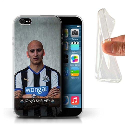 Offiziell Newcastle United FC Hülle / Gel TPU Case für Apple iPhone 6+/Plus 5.5 / Pack 25pcs Muster / NUFC Fussballspieler 15/16 Kollektion Shelvey