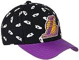 adidas Men's Cap (S20373_Black and Purple) (4055012759794)