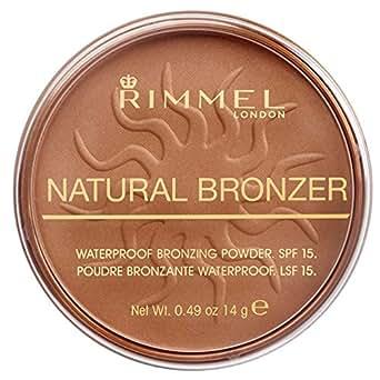 Rimmel London Natural, Cipria abbronzante, Sun Bronze, 14 g