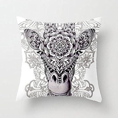 En Julio De Nueva Jirafa almohada decoración del hogar almohada cubre