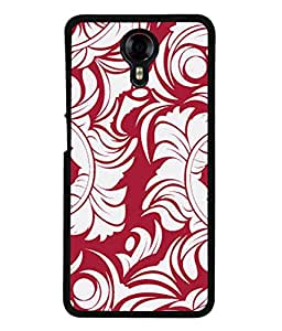 PrintVisa Designer Back Case Cover for Micromax Canvas Xpress 2 E313 (Don't look Don't Stare Pink color back Designer Case Don't touch my phone Cell Cover Funky Smartphone Cover Ullu ka patte Classic owl )