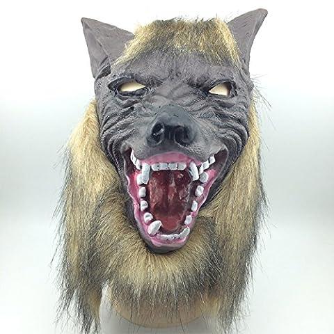 Bühnenaufführungen Sitcom Stützen Halloween Horror Maske Werewolf Sets Von Kopf Sets Ganzes Leben Trommel Spielzeug