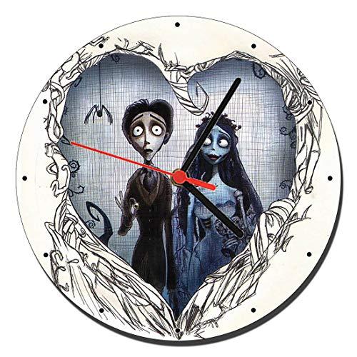 MasTazas Corpse Bride Tim Burton C Wanduhren Wall Clock 20cm