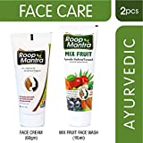 Roop Mantra Face Cream 60gm + Mix Fruit Face Wash 115ml