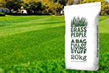 Superstar Back Lawn Grass Seed 20KG from The Grass People – Perfect for families, Children, Pets and Anyone Who Wants a Premium Quality, Hard Wearing, Attractive Lawn (20kg)