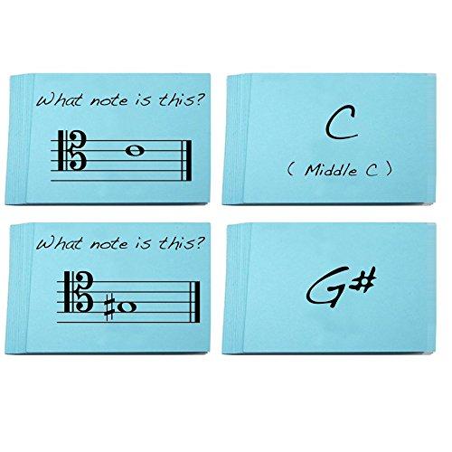 Tenor-Lernkarten Violinschlüssel Musik Namen wirklich Spaß für Lesen lernen zu Musik, Fagott, Bass, Cello, Trombone))