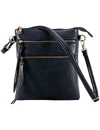 31a2154b85 XY Fancy Crossbody Bags for Women Large Anti Theft Crossbody Bags for Women  Zip Multi Pocket Cross Shoulder…