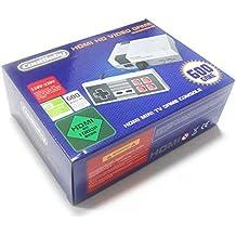 Zantec Sistema profesional de las consolas de juegos familiares clásicos para el reproductor de juegos NES Reproductor de video incorporado de 600 televisores con controladores duales