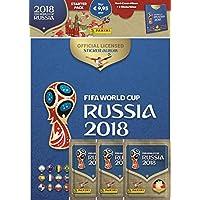 """Panini 709951"""" FIFA World Cup Russia 2018"""" Sammelsticker Starterset, Hardcoveralbum und 3 Booster"""