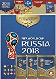 Panini 709951 FIFA World Cup Russia 2018 raccolta Sticker Starter Set, Hard Cover Album e 3 Booster