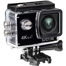 """SJCAM sj4000Air–Videocamera (4K, 16MP, WiFi, schermo posteriore 2"""" LTPS da LCD), colore nero (ricondizionato certificato)"""
