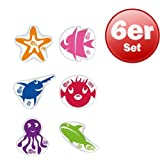 Beco-Sealife® Tauchtiere 6er Set
