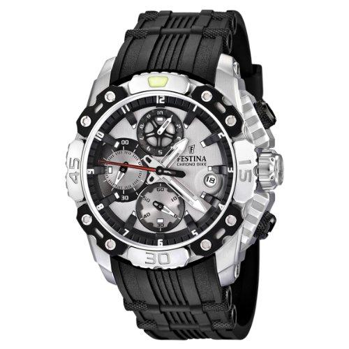 Festina Herren-Armbanduhr XL Chronobike 2011 Chronograph Kautschuk F16543/1