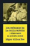 Los crímenes de la calle Morgue y otros casos de Auguste Dupin (Básica de Bolsillo – Serie Novela Negra)