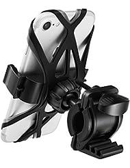 Handyhalterung Fahrrad, Spigen Universal Verstellbarer] [360° klare Sicht] [2 rutschfeste Träger] Halterung für iPhone, Samsung, Smartphones, Handyhalter Fahrrad,Fahrrad Handyhalterung