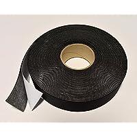 reemo aislamiento para tubería quedando cinta 50mm x 3mm x 15m negro espuma clase o