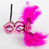 Kaige Maske Feder-Masken-Maskerade Partei Masken Halloween Weihnachten