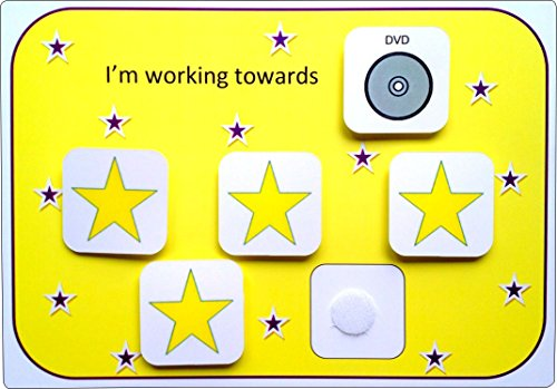 Visual Reward Chart – 5 star (AAC – Picture Communication Symbols)