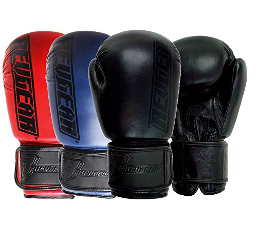 Revgear Boxhandschuhe Elite - Boxhandschuhe MMA Kickboxen Sparring Kickboxen Muay Thai (Red, 10 Unzen) -