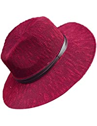 Menschwear mujer Hats Wide Brim Summer Beach Hat Sun Woven Hats