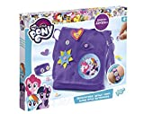TM Essentials Cooles My Little Pony (MLP) DIY-Set mit Schultertasche und Armband – individuell gestaltbar mit Motiven von Rainbow Dash, Twilight Sparkle & Pinkie Pie