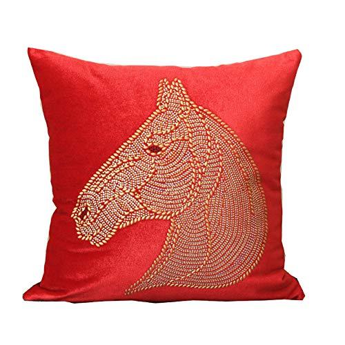 amant großen roten Kissen Kissenbezug Sofa Wohnzimmer Polyester Kissenbezug ()