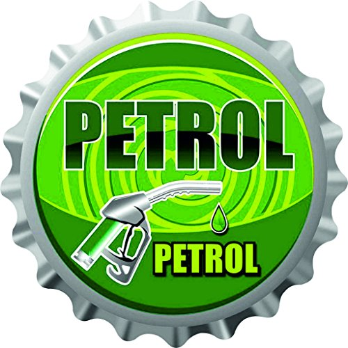 Rider Reflector Petrol Fuel/Sticker/Graphic/Decal/Badge (Pack of 1)