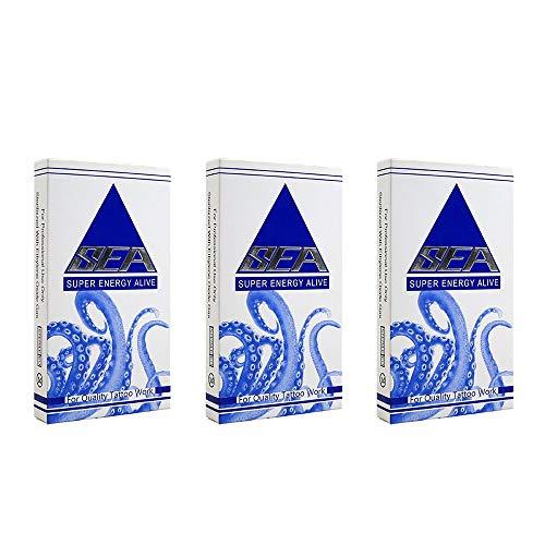 Dragonhawk Professional Sterilized Disposable 30 Pcs Tattoo Needles For Rotary Machine Pen Mix Size Needles Set YTZ-MIX
