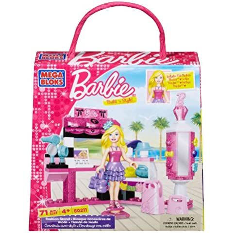 Mega Bloks Barbie 802011 Tienda de moda
