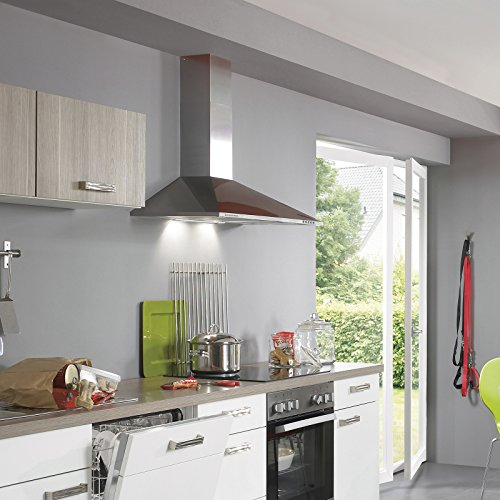 % Ciarra, cappa da cucina 60cm in acciaio inossidabile (argento) prezzo