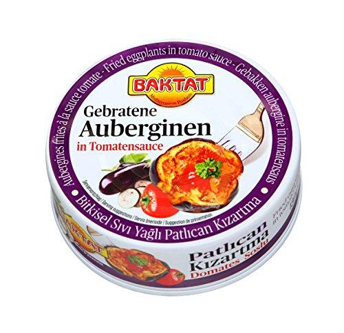 Baktat Gebratene Auberginen in Tomatensauce, 4er Pack (4 x 130 g)