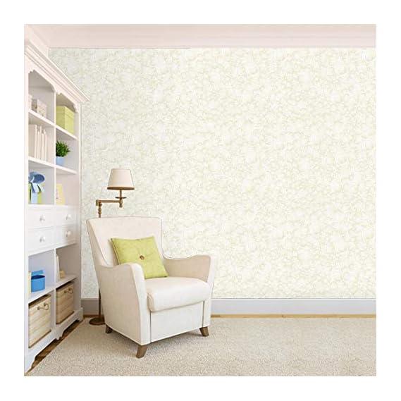100Yellow? Printed Self Adhesive Peel And Stick Waterproof Hd Wallpaper (44 Sqft)