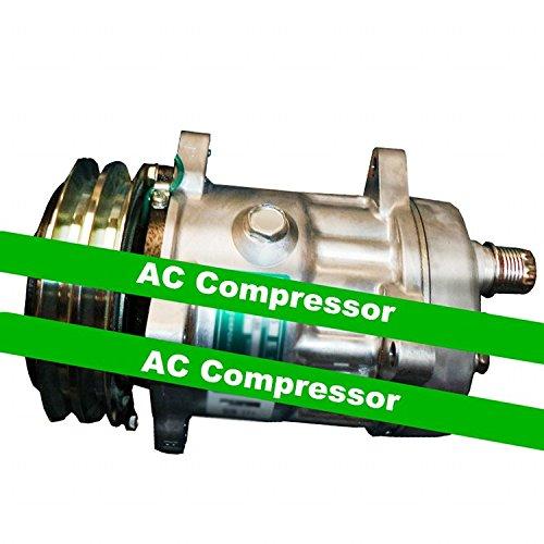 Gowe AC Kompressor für Sanden SD7H15Modell s8264AC Kompressor mit Kupplung. R134A. 24V. 7Kolben Replica. 150cc Klimaanlage AC Kompressor - Kompressor Mit Kupplung Ac