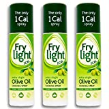 Frylight Extra Virgin Olive Oil Cooking Spray 2x 190ml (380ml) - 1 Cal. per...