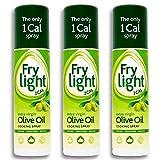 Frylight Extra Virgin Olive Oil Cooking Spray 2x 190ml (380ml) - 1 Cal. per Spray!