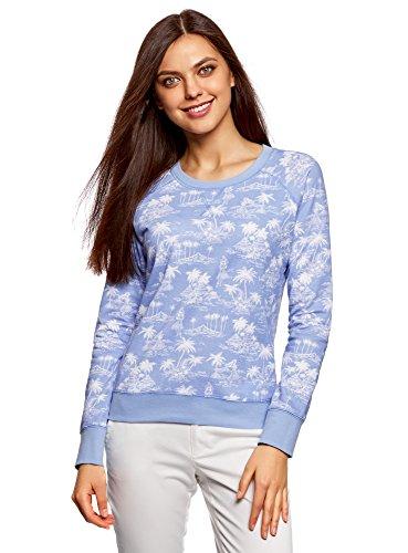oodji Ultra Women's Basic Printed Sweatshirt
