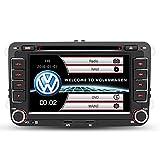 7 Zoll 2 Din Auto Stereo für VW Skoda Seat autoradio mit Wince System DVD Player GPS Navigation FM AM Radio Bluetooth Kamera Lenkrad Bedienung Aktualisierung der Lebensdauerkarten
