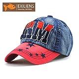 #10: Handcuffs JAM Cap Stylish Cotton Baseball Adjustable Red Cap For Men/Women