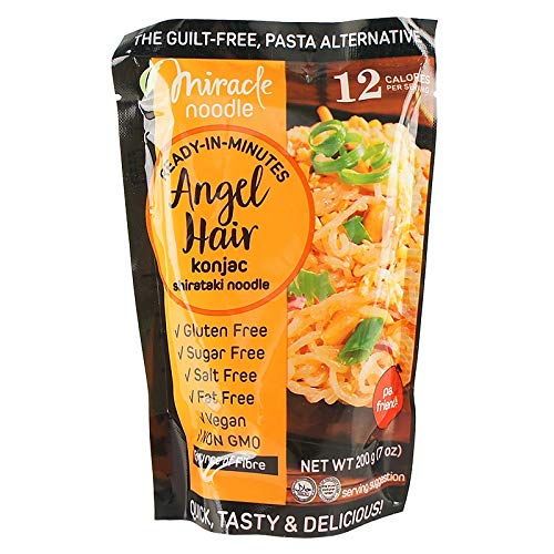 Miracle Noodles Konjak Nudel Instant Neue 2019 Low Carb Asia Food Shirataki Nudeln Gluten Free Box 10 Packungen 200 Gramm Spaghetti