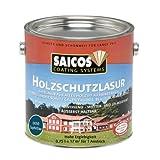 Saicos 0050 301 Holzschutzlasur saphirblau 0.75 Liter