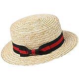 ArtiDeco Panama Hut Fedora Trilby Bogart Hut Herren Storhhut 1920 Stil Mafia Gangster Gatsby Kostüm Accessoires (Rot Schwarz)