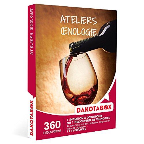 DAKOTABOX - Coffret Cadeau - ATELIERS ŒNOLOGIE - 360 dégustations œnologiques :...