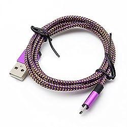 YANSHG® Micro USB Kabel, Kabelbinder,USB langlebig Ladekabel für Android/LG G3 G4 Samsung Galaxy S2 S3 S4 S6 /Note 3 4 5/HTC/Sony/Xiaomi und mehr Micro-Geräte.