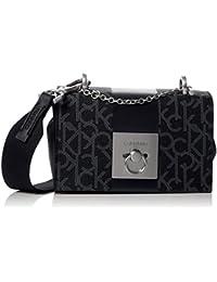 Calvin Klein Mono Block Small Flap Crossbody - Bolsos bandolera Mujer