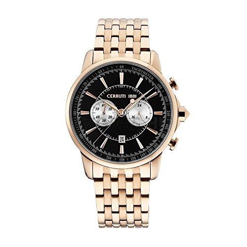 Cerruti Bracelet Homme Montre chronographe cra073C221h or rose