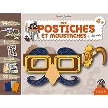Mes postiches et moustaches à décorer